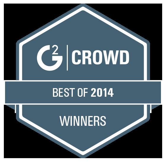 g2 crowd best of 2014 winners